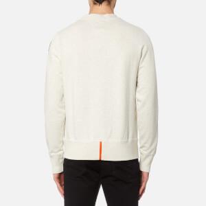 Parajumpers Men's Caleb Sweatshirt - White Melange: Image 2