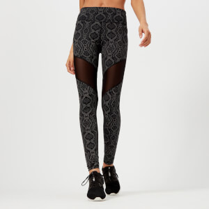 Varley Women's Foster Tights - Midnight Python