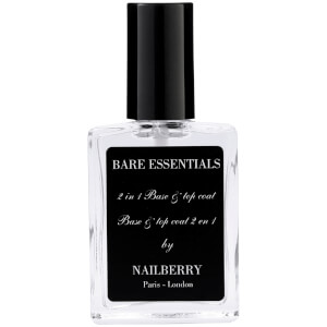 Capa base y esmalte protector 2 en 1 Bare Essentials de Nailberry