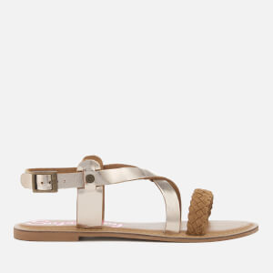 Superdry Women's Serenity Sandals - Light Gold/Tan