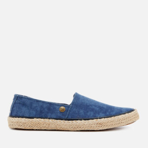 Superdry Men's Adam Espadrilles - Navy Washed Canvas