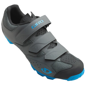 Giro Carbide RII MTB Cycling Shoes - Dark Shadow/Blue