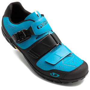 Giro Terraduro MTB Cycling Shoes - Blue Jewel/Black