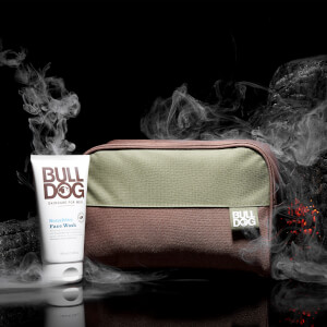 Bulldog Sensitive Face Wash & Wash Bag Set