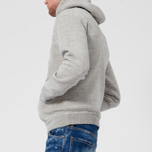 Dsquared2 Men's Dsq2 Logo Dan Fit Hoody - Grey Melange: Image 2