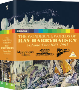 The Wonderful Worlds Of Ray Harryhausen, Volume 2: 1961-1964 (Dual Format Limited Edition)