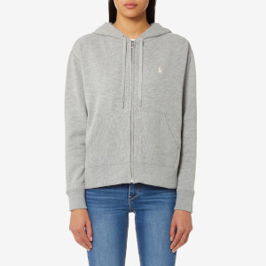 Polo Ralph Lauren Women's Hooded Sweatshirt - Heather Grey