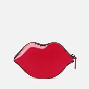 Lulu Guinness Women's Confetti Lip Print Foldaway Tote Bag - Multi