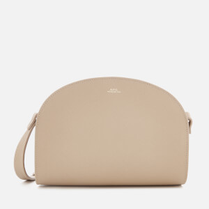 A.P.C. Women's Demi-Lune Cross Body Bag - Beige