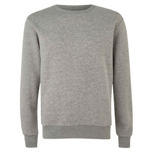 Native Shore Men's Essential Sweatshirt - Light Grey Marl