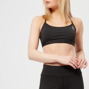 Reebok Women's CrossFit Skinny Sports Bra - Black