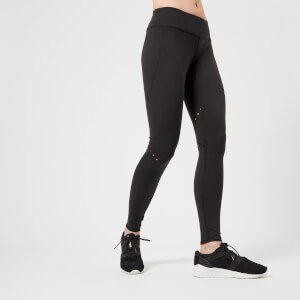 Reebok Women's CrossFit  Lasercut Tights - Black