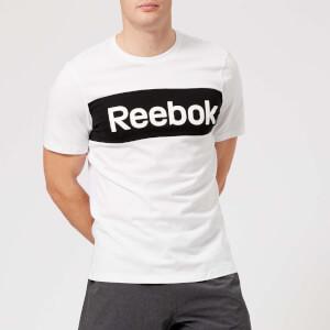 Reebok Men's Brand Graphic Short Sleeve T-Shirt - White