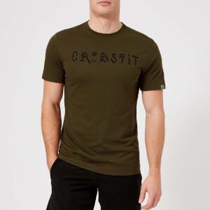 Reebok Men's CrossFit Pokras Short Sleeve T-Shirt - Army Green