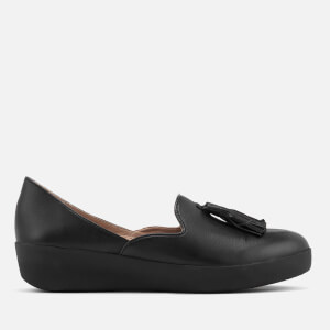 FitFlop Women's Tassel Superskate D'Orsay Loafers - Black