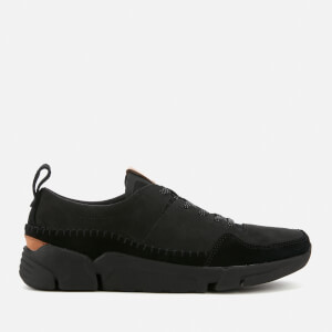 Clarks Men's Triactive Run Nubuck Trainers - Black