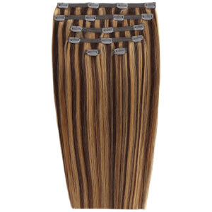 "Beauty Works 18"" Double Hair Set Clip-In Extensions -klipsipidennykset; 45,72 cm, Blondette 4/27"