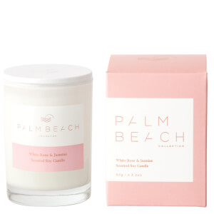 Palm Beach White Rose & Jasmine Mini Candle 90g