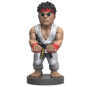 Supporto Cable Guy per controller e smartphone da collezione Ryu di Street Fighter, 20 cm
