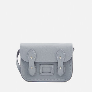 The Cambridge Satchel Company Women's Tiny Satchel - French Grey Saffiano