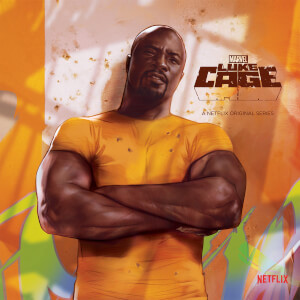 "Zavvi Exclusive Marvel Luke Cage 7"""" Vinyl"