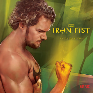"Zavvi Exclusive Marvel Iron Fist 7"""" Vinyl"