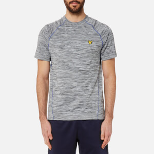 Lyle & Scott Men's Jones Training T-Shirt - Mid Grey Marl