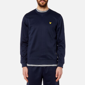 Lyle & Scott Men's Thompson Fleece Crew Neck Sweatshirt - Navy