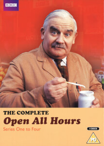 Open All Hours Complete Series 1-4 Box Set