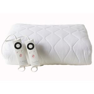Dreamland 16314 Sleepwell Intelliheat Cotton Heated Mattress Protector - King Dual