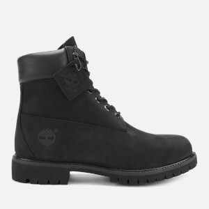 Timberland Men's 6 Inch Premium Waterproof Boots - Black