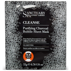 Sanctuary Spa Charcoal Bubble Sheet Mask