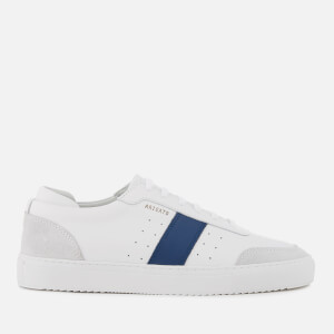 Axel Arigato Men's Dunk Leather Trainers - White/Navy