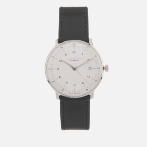 Junghans Men's Max Bill Automatic Watch - White/Black