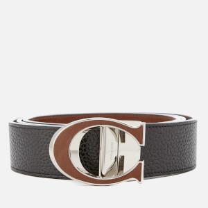 Coach Men's 38mm Boxed Belt - Dark Saddle