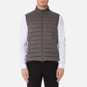 Herno Men's Luxury Padded Gilet - Carbone