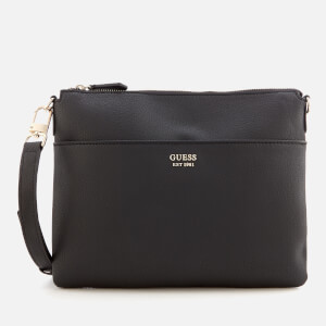 Guess Women's Digital Cross Body Bag - Black