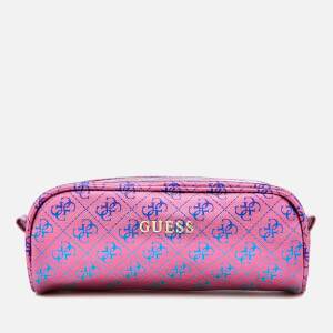 Guess Women's 4G For Fun Cosmetic Case - Fuchsia