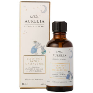 Little Aurelia from Aurelia Probiotic Skincare Sleep Time Bath and Massage Oil -kylpy- ja hierontaöljy 50ml