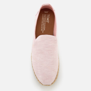 TOMS Women's Deconstructed Alpargata Chambray Espadrilles - Blossom: Image 3