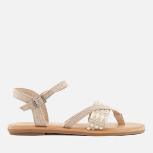 TOMS Women's Lexie Strappy Sandals - Oxford Tan