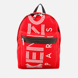 KENZO Women's Sport Small Rucksack - Medium Red
