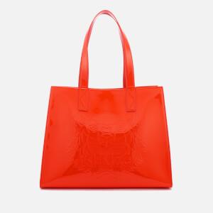 KENZO Women's Icon Horizontal Tote Bag - Medium Red