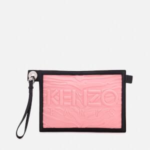 KENZO Women's Kanvas A5 Pouch - Flamingo Pink