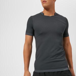 FALKE Ergonomic Sport System Men's Fitness Short Sleeve T-Shirt - Concrete