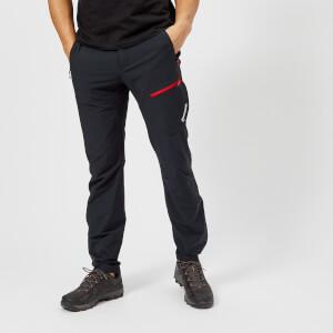 Montane Men's Alpine Trek Pants - Black/Alpine Red