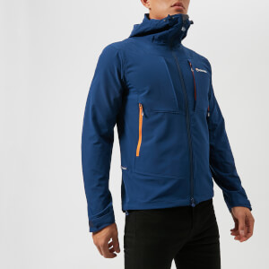 Montane Men's Dyno Stretch Jacket - Antartic Blue/Tangerine