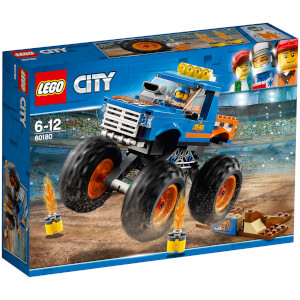LEGO City Great Vehicles : Le Monster Truck (60180)