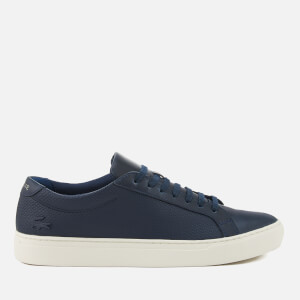 Lacoste Men's L.12.12 113 Leather Cupsole Trainers - Navy/Off White