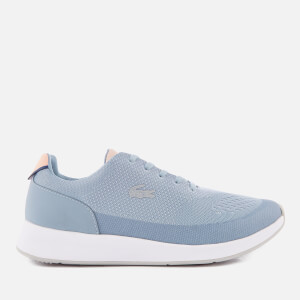 Lacoste Women's Chaumont 118 3 Runner Trainers - Light Blue/Light Pink: Image 1